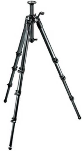 Dreibeinstativ Manfrotto MT057C4-G 3/8 Zoll Arbeitshöhe=23 - 205 cm Schwarz Wasserwaage