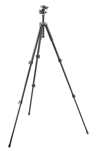 Dreibeinstativ Manfrotto MK293A3-A0RC2 3/8 Zoll Arbeitshöhe=45 - 158 cm Schwarz Kugelkopf