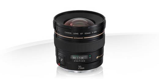 Weitwinkel-Objektiv Canon EF USM 2,8/20