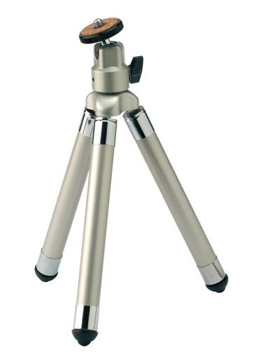Dreibeinstativ Cullmann DIGI-POD short Arbeitshöhe=20 - 62.5 cm Schwarz-Silber