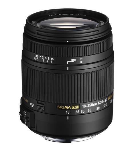 Standard-Objektiv Sigma Foto DC 3,5-6,3/18-250 f/3.5 - 6.3 18 - 250 mm