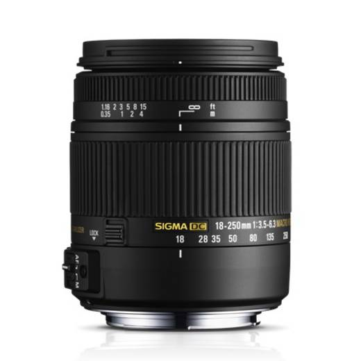 Standard-Objektiv Sigma Foto DC 3,5-6,3 18-250 f/3.5 - 6.3 18 - 250 mm