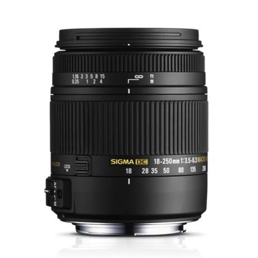 Standard-Objektiv Sigma Foto DC 3,5-6,3/18-250 OS N/AF HSM Makro f/3.5 - 6.3 18 - 250 mm