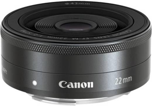 Weitwinkel-Objektiv Canon EF-M 2,0/22 mm STM f/1 - 2.0 22 mm