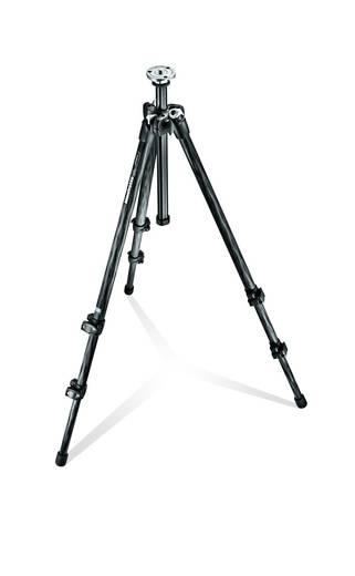 Dreibeinstativ Manfrotto MT294C3 3/8 Zoll Arbeitshöhe=169 cm (max) Schwarz