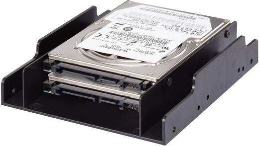 Dual 3.5 Zoll Festplatten-Einbaurahmen auf 2.5 Zoll Renkforce HDA-252P
