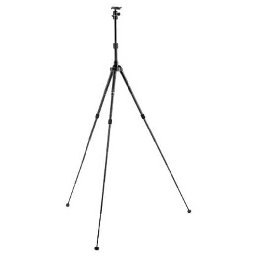 Dreibeinstativ Velbon V32474 Arbeitshöhe=34 - 155 cm Schwarz inkl. Tasche