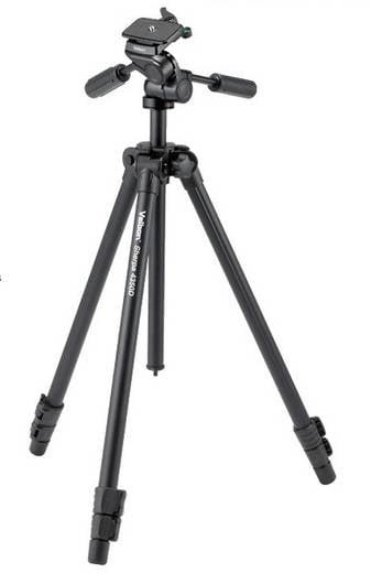 Dreibeinstativ Velbon V43362 Arbeitshöhe=24 - 161 cm Schwarz