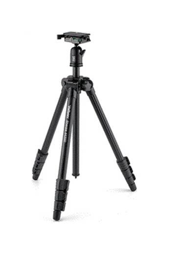 Dreibeinstativ Velbon V43366 Arbeitshöhe=22 - 152 cm Schwarz