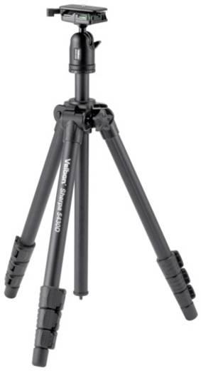 Dreibeinstativ Velbon V43376 Arbeitshöhe=25 - 157 cm Schwarz