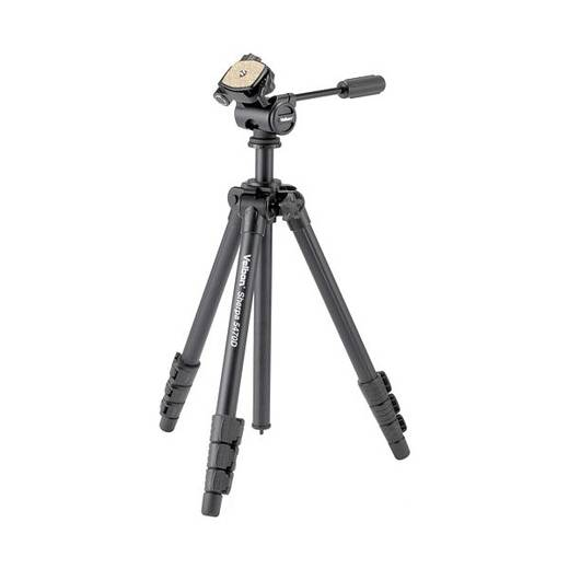 Dreibeinstativ Velbon V43378 Arbeitshöhe=26 - 158 cm Schwarz