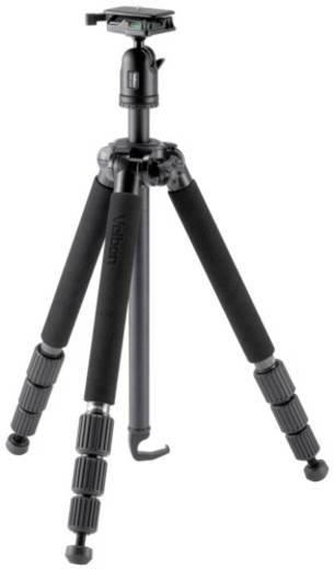 Dreibeinstativ Velbon V24450 Arbeitshöhe=25 - 168 cm Schwarz