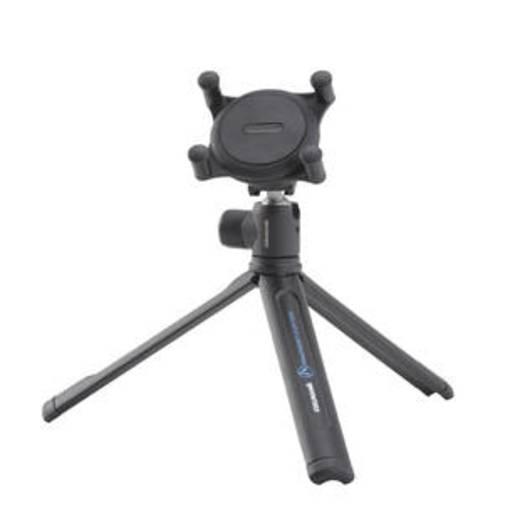 Tischstativ Cullmann 50086 1/4 Zoll Arbeitshöhe=17.5 cm Schwarz Für Smartphones und GoPro
