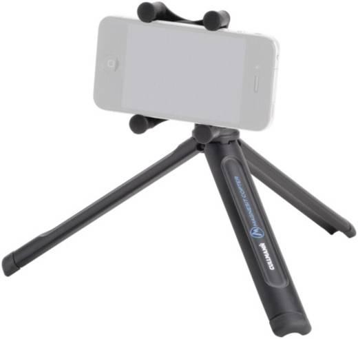 Tischstativ Cullmann Magnesit Copter mobile 1/4 Zoll Arbeitshöhe=17.5 cm Schwarz Für Smartphones und GoPro