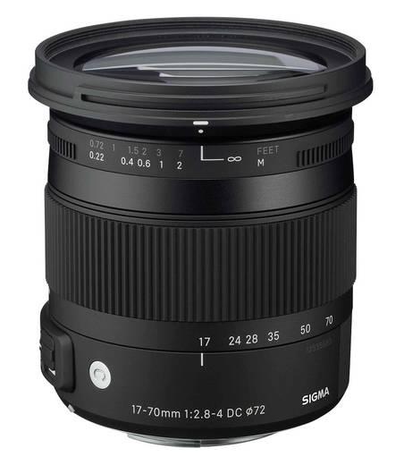 Standard-Objektiv Sigma Foto 2,8-4/17-70 DC OS HSM N/AF Makro f/2.8 - 4 17 - 70 mm