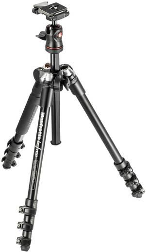 Dreibeinstativ Manfrotto MKBFRA4-BH 1/4 Zoll Arbeitshöhe=34 - 144 cm Schwarz Kugelkopf