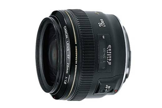 Weitwinkel-Objektiv Canon EF USM 1,8/28 f/1 - 1.8 28 mm
