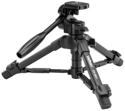 Dreibeinstativ Velbon 30172 Arbeitshöhe=19 - 42 cm Schwarz inkl. Tasche