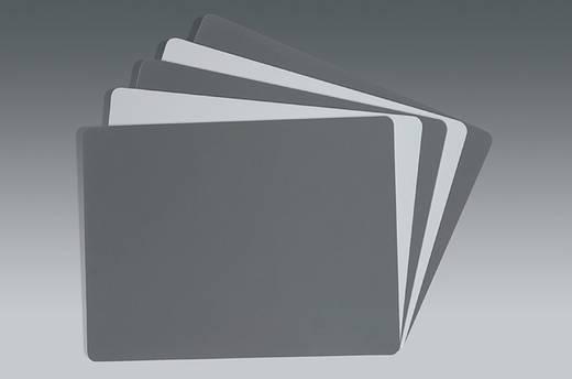 Grau/Weiß-Karte Novoflex Carte gris/blanc 15x20 cm