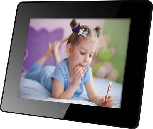 Digitaler Bilderrahmen 20.3 cm 8 Zoll Rollei Pictureline 8100 Schwarz