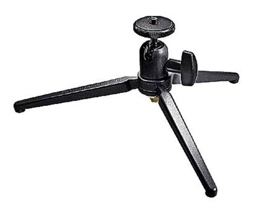 Tischstativ Manfrotto 709B Arbeitshöhe=11 cm Schwarz Kugelkopf