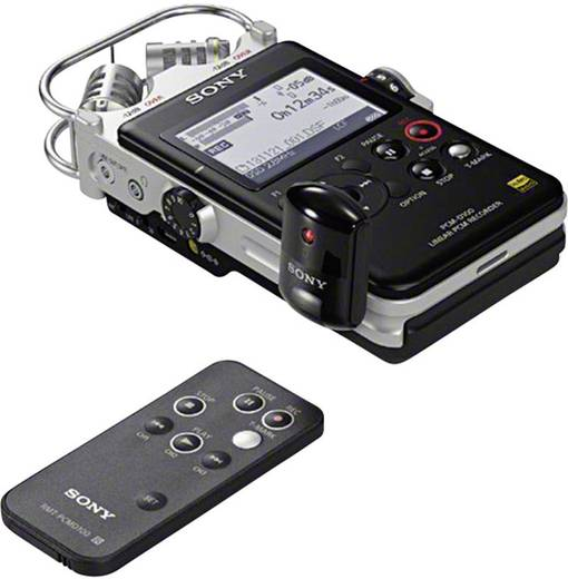 Mobiler Audio-Recorder Sony PCM-D100 Schwarz/Silber