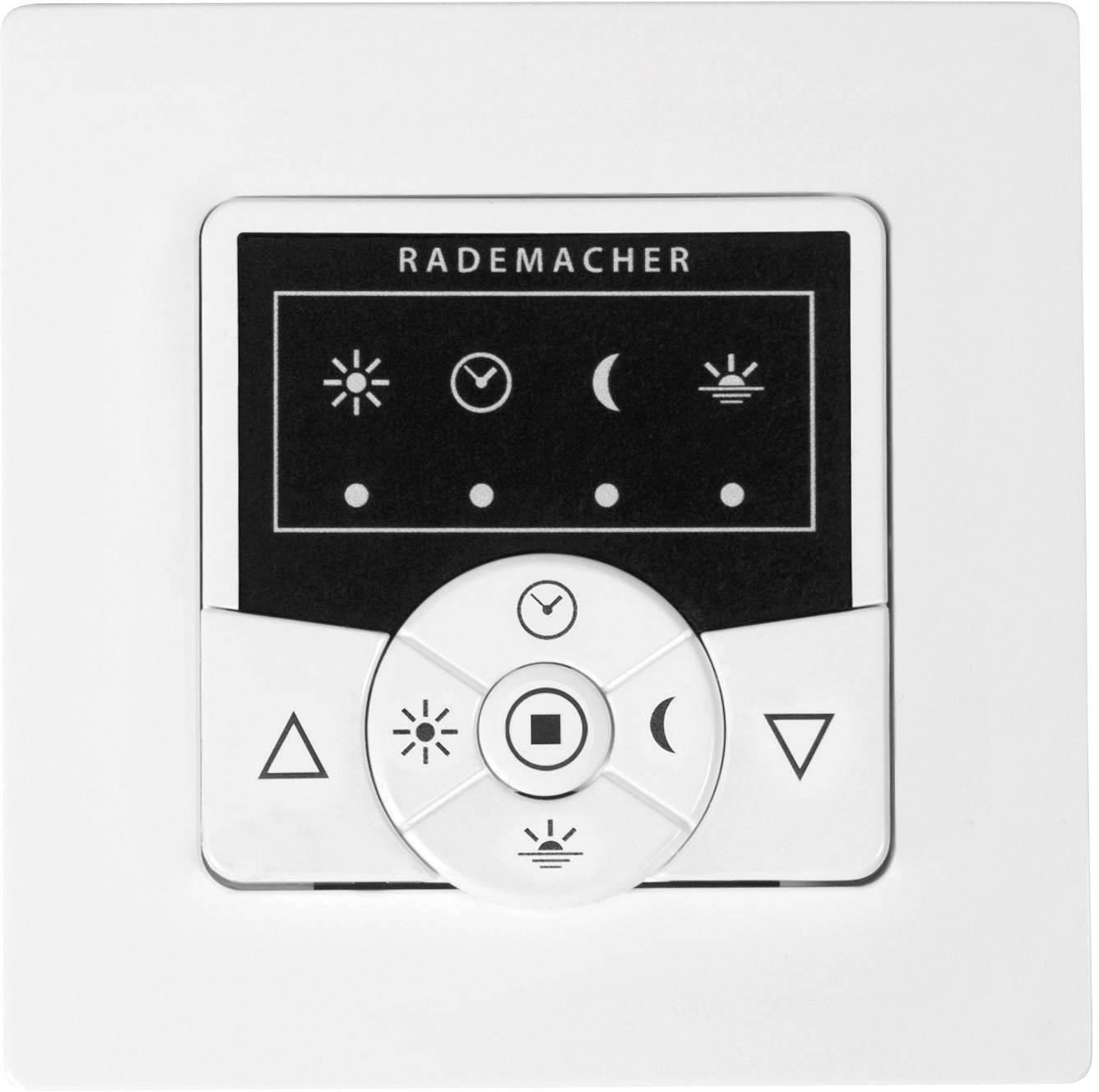 Rademacher DuoFern HomeTimer Zeitschaltuhr 9498-AL Zentrale Funk Rolladen silber
