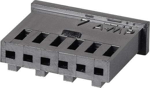 Buchsengehäuse-Kabel AMPMODU MOD II Polzahl Gesamt 6 TE Connectivity 280360 Rastermaß: 2.54 mm 1 St.