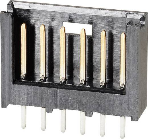 TE Connectivity 280372-2 Stiftleiste (Standard) AMPMODU MOD II Polzahl Gesamt 6 Rastermaß: 2.54 mm 1 St.