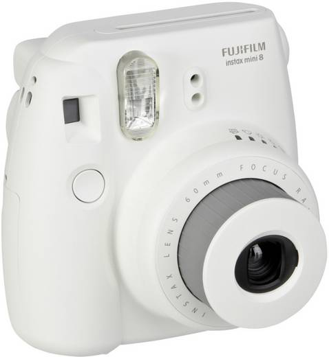 Sofortbildkamera Fujifilm Instax Mini 8 Weiß