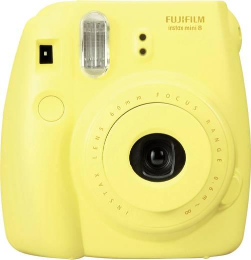 Sofortbildkamera Fujifilm Instax Mini 8 Gelb