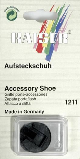 Blitzschuh Kaiser Fototechnik 1211 Aufsteckschuh mit Gewindezapfen und Kontermutter