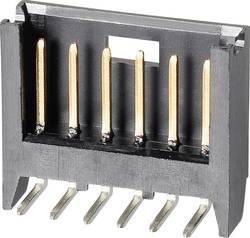 Barrette mâle (standard) série AMPMODU MOD II mâle, coudé 10 pôles TE Connectivity 280381-2 Pas: 2.54 mm 1 pc(s)