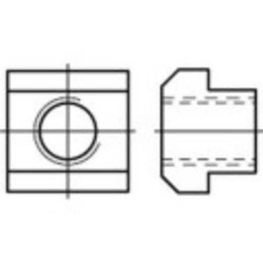 TOOLCRAFT 107990 T-Nutenstein M16 20 mm DIN 508 Stahl 10 St.