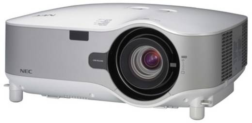 LCD Beamer NEC NP3250W Helligkeit: 4000 lm 1280 x 800 WXGA 500 : 1