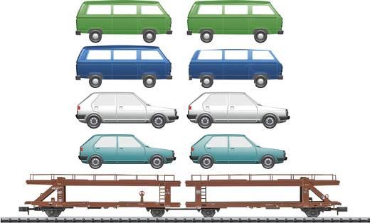 MiniTrix T15441 N Autotransportwagen der DB