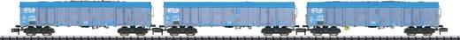 MiniTrix T15994 N 3er-Set Güterwagen Ealnos der NS