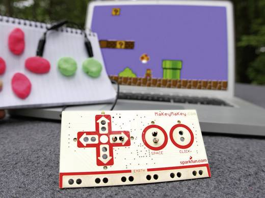 Gamepad MAKEY MAKEY PC Schwarz, Rot, Weiß