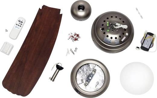 Deckenventilator Westinghouse Bendan Zinn/Apfel (Ø) 132 cm Flügelfarbe: Holz Gehäusefarbe: Zinn
