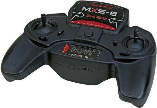 Graupner Radiocommande MXS-8 HoTT Hand-Fernsteuerung 2,4 GHz Anzahl Kanäle: 8 inkl. Empfänger