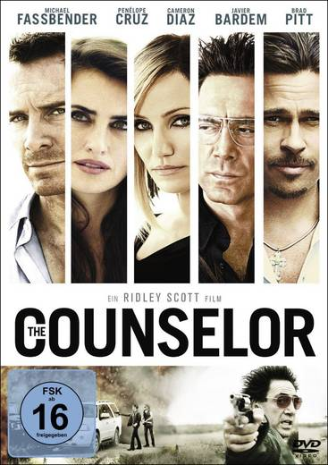DVD The Counselor FSK: 16