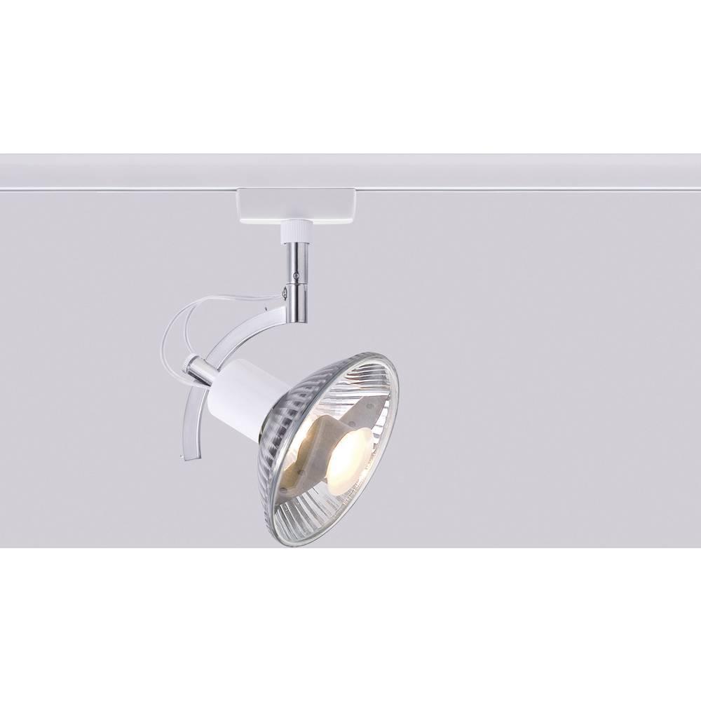 lampe pour syst me de rail haute tension paulmann roncalli urail gu10 50 w ampoule halog ne. Black Bedroom Furniture Sets. Home Design Ideas