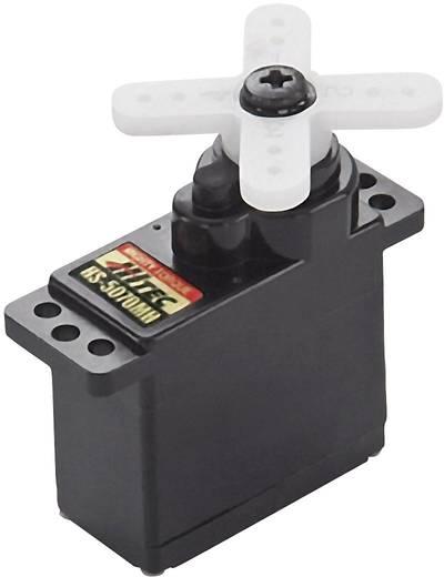 Hitec Mini-Servo HS-5070MH Getriebe-Material: Metall Stecksystem: JR