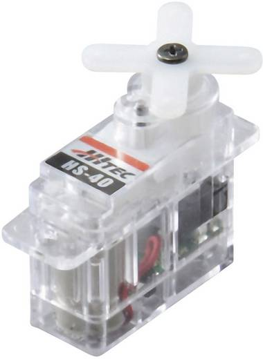 Hitec Micro-Servo Servo HS-40 Analog-Servo Getriebe-Material: Kunststoff Stecksystem: JR