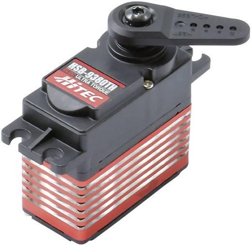 Hitec Standard-Servo HSB-9380TH Digital-Servo Getriebe-Material: Titanium Alloy Stecksystem: JR