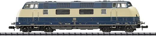 MiniTrix T16222 N Diesellok BR 220 der DB, MHI-Exklusiv-Modell