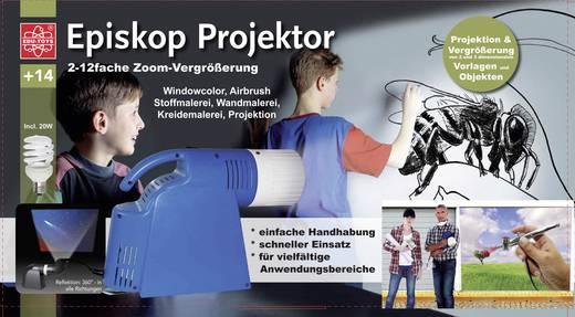 Episkop-Stehbildwerfer für Airbrush MP501