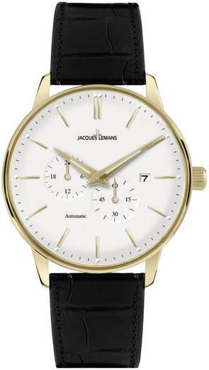 Jacques Lemans Automatik Armbanduhr N-210B (Ø x H) 40 mm x 13 mm Edelstahl Gehäusematerial=Edelstahl Material (Armband)=