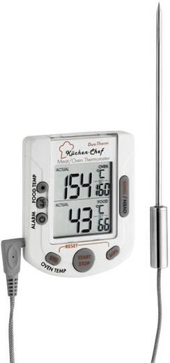 Küchen-Thermometer Ofen- und Kerntemperatur, mit Touchscreen, mit Timer, Alarm TFA 14.1503 Schwein, Rind, Reh, Lamm, Kan
