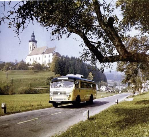 Steyr 480a Bus 1:87 Modellauto